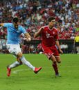 FC Bayern Muenchen v Manchester City — Audi Cup 2013 Final