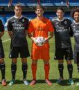 Гетры взрослые Реал Мадрид чёрный (Real Madrid C.F. ) 02