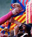Тренировочная форма Барселона (фиолетовый рукав) (Barcelona) (3)