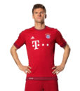 Футболка поло Бавария красный (FC Bayern München) (2)