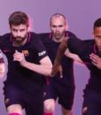 Футболка поло Барселона фиолетовый (Barcelona) (1)