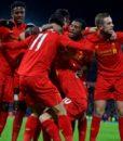 Футболка поло Ливерпуль красный (Liverpool F.C.) (1)